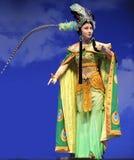 Actrice assez chinoise d'opéra Photo libre de droits