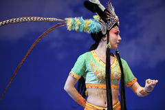 Actrice assez chinoise d'opéra Photos libres de droits