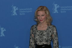 Actrice Cate Blanchett Royalty-vrije Stock Afbeelding