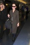 Actrice Christina Ricci à l'aéroport de LAX. Photo libre de droits