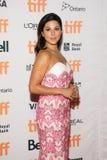 Actrice Cristina Rosato bij de `-Moeder` Première bij Internationaal de Filmfestival van Toronto royalty-vrije stock foto's