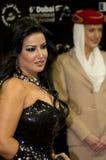 Actrice d'Egyptien de Kashab d'Al de Somayya Images stock