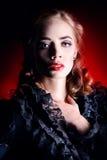 Actrice de théâtre Photo stock