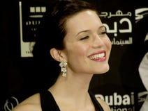 Actrice des USA Mandy Moore dans DIFF Photo libre de droits