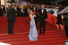 Actrice et chanteur Kylie Minogue Images libres de droits