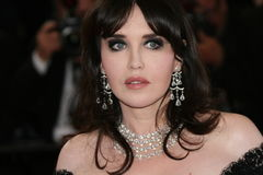 Actrice Isabelle Adjani Royalty-vrije Stock Afbeelding