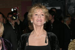 Actrice Jane Fonda Royalty-vrije Stock Foto's