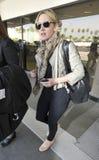 Actrice Kate Winslett à l'aéroport de LAX. Photographie stock