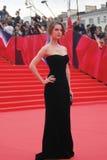 Actrice Lyanka Griu bij de Filmfestival van Moskou Royalty-vrije Stock Afbeelding