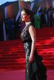 Actrice Marina Alexandrova bij de Filmfestival van Moskou Royalty-vrije Stock Foto