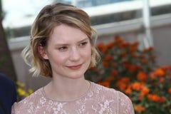 Actrice Mia Wasikowska Photographie stock