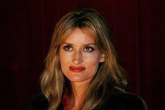 Actrice Natascha McElhone Royalty-vrije Stock Foto