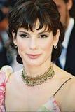 Actrice Sandra Bullock Stock Afbeelding