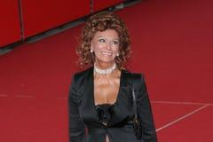 Actrice Sophia Loren Photo libre de droits