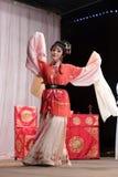 Actrice triste, distillateurs jinyuliangyuan d'opéra taiwanais photos libres de droits
