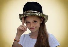 Actriz adolescente Foto de archivo libre de regalías
