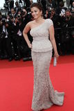 Actriz Aishwarya Rai Bachchan Fotografia de Stock Royalty Free