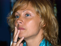 Actriz Alena Babenko foto de archivo libre de regalías