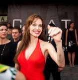 Actriz Angelina Jolie Fotos de archivo libres de regalías