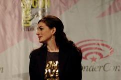 Actriz Anne Hathaway Foto de Stock Royalty Free