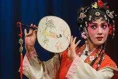 Actriz bastante china de la ópera Imagen de archivo