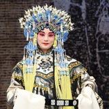 Actriz bastante china de la ópera Fotos de archivo