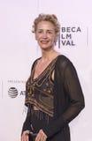 Actriz británica celebrada Janet McTeer en la premier 2017 de película de Tribeca del ` el ` de la excepción Fotos de archivo libres de regalías