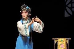 Actriz chinesa da ópera foto de stock royalty free