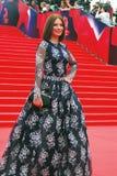 Actriz Irina Lachina en el festival de cine de Moscú Imagen de archivo libre de regalías