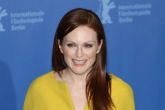 Actriz Julianne Moore Fotografia de Stock Royalty Free
