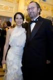 Actriz Lucy Liu en la bola del amor fotos de archivo