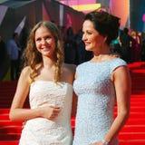 Actriz Olga Kabo no festival de cinema de Moscovo Foto de Stock Royalty Free
