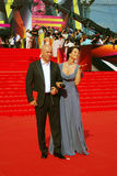 Actriz Olga Kabo no festival de cinema de Moscovo Fotos de Stock Royalty Free