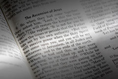 Acts 1:8. A popular passage in the Christian New Testament royalty free stock photos