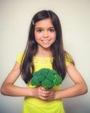 Actuación de la chica joven fotos de archivo libres de regalías