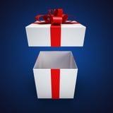 Actual caja Imagen de archivo libre de regalías