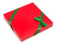 Actual caja del rojo Fotografía de archivo libre de regalías
