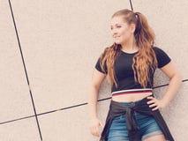Actual equipo adolescente de moda del verano Foto de archivo libre de regalías