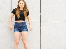 Actual equipo adolescente de moda del verano Fotos de archivo libres de regalías