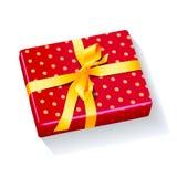 Actual Navidad del día de fiesta de la caja Fotos de archivo libres de regalías