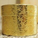 Actual rectángulo de oro Imagen de archivo