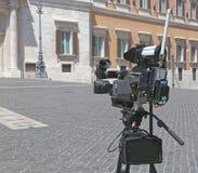 Actualités d'appareil-photo Photo stock
