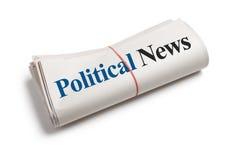 Actualités politiques Photo stock