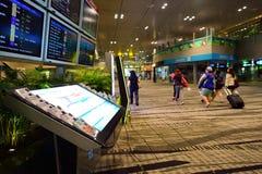 Actualmente, el aeropuerto tenía tres terminales operativos Imagen de archivo libre de regalías