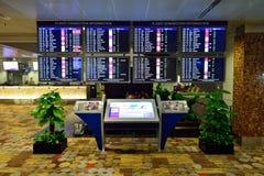 Actualmente, el aeropuerto tenía tres terminales operativos Imágenes de archivo libres de regalías