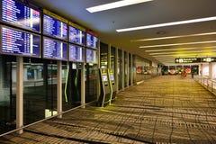 Actualmente, el aeropuerto tenía tres terminales operativos Fotos de archivo