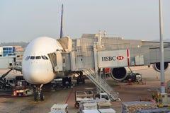 Actualmente, el aeropuerto tenía tres terminales operativos Imagenes de archivo