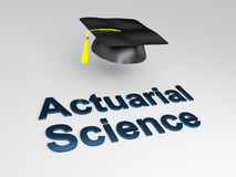 Actuarial Science concept Stock Photography