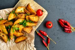 Acuña las patatas Imagenes de archivo