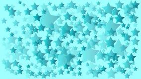 Acuñe el color muchos fondos al azar de las estrellas del tamaño libre illustration